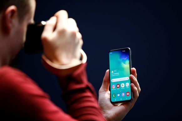 De nieuwe Samsung Galaxy S10e.