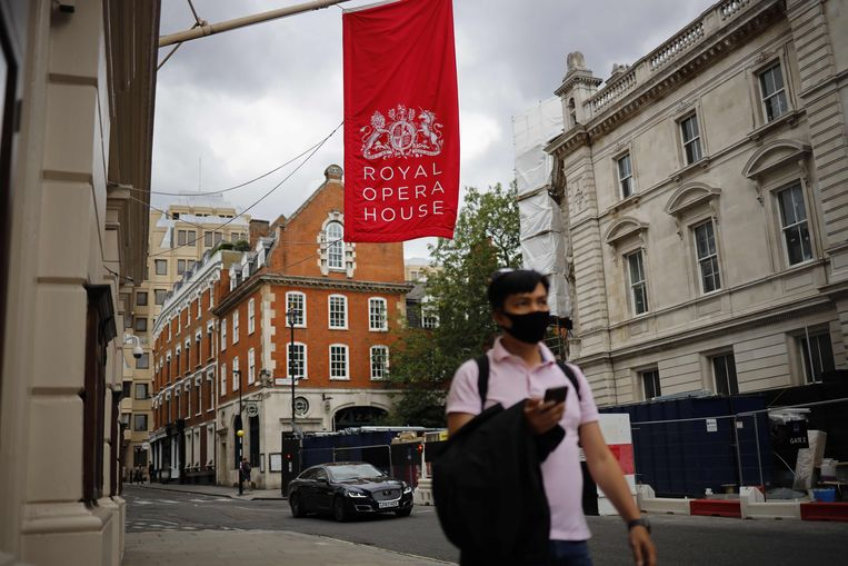 Het Royal Opera House in Londen is nog altijd gesloten.  Beeld AFP