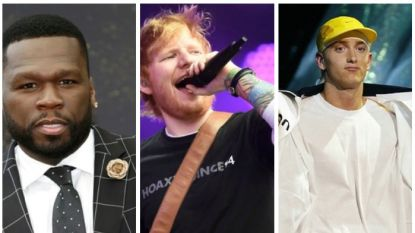 """50 Cent kondigt samenwerking met Ed Sheeran en Eminem aan: """"Het wordt een topschijf"""""""