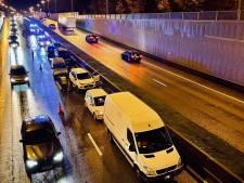Kettingbotsing met liefst 9 voertuigen zorgt voor hinder op Expresweg