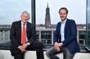 Martin en Maurits van Hoogevest in hun kantoor aan de Amersfoortse Stadsring.