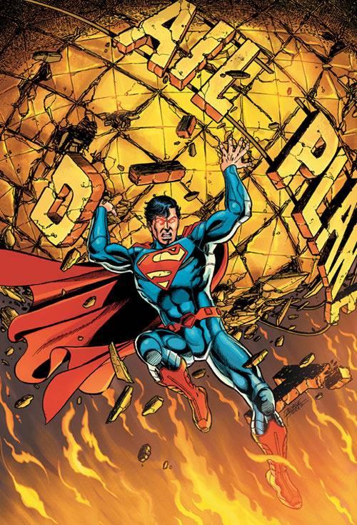 Superman zonder rode broek.