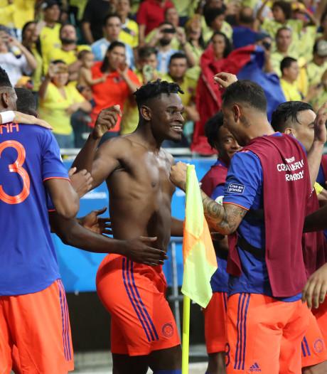 Colombia wint voor het eerst in twaalf jaar van kansloos Argentinië