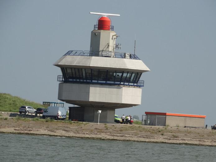 De Verkeerspost Hansweert.