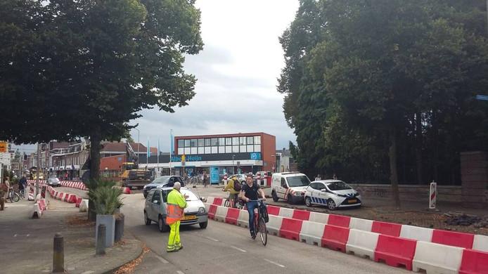 De Daalseweg ligt deels open. foto DG