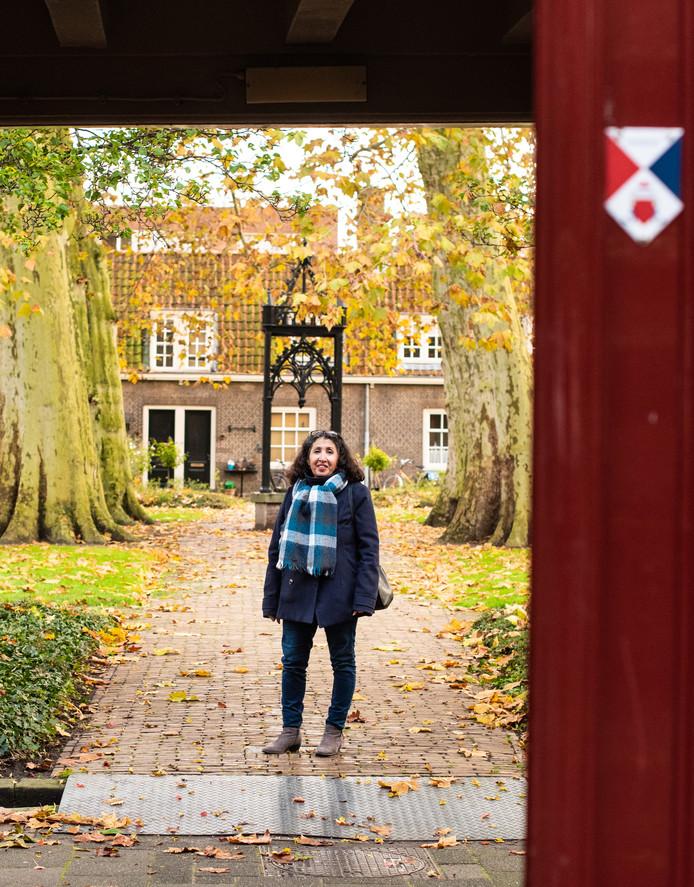 Magda woont in het Arend Maartenshof. ,,Hier wonen geeft me een veilig gevoel.''