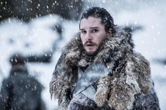 Acteur Kit Harington als Jon Snow.