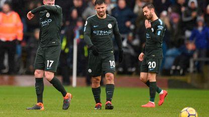 Burnley snoept Man City punten af, Kompany maakt opnieuw 90 minuten vol