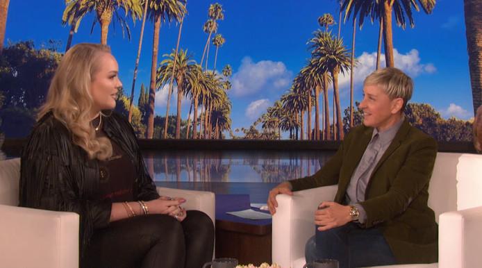 Nikkie de Jager en Ellen DeGeneres.