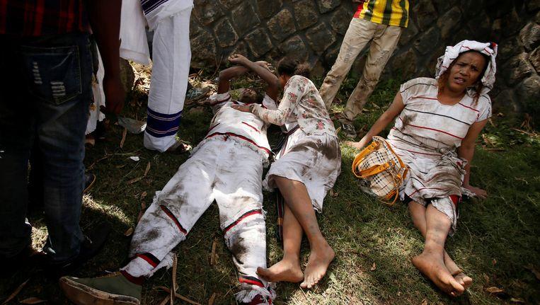 Gewonde Oromo in Ethiopië (archieffoto)