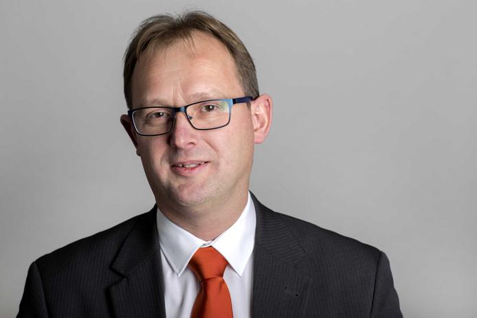 SGP'er Bert-Jan Ruissen,  de nummer twee op de lijst van de ChristenUnie-SGP voor het Europees Parlement.