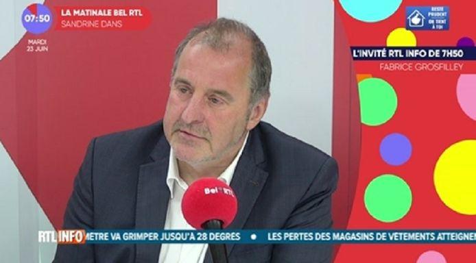 Benoit Piedboeuf, chef de groupe MR à la Chambre.
