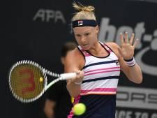 WTA Finals in gevaar voor Bertens na nederlaag in Moskou