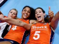 Oranje-vriendinnen Plak en De Kruijf vandaag tegen elkaar in CL-finale