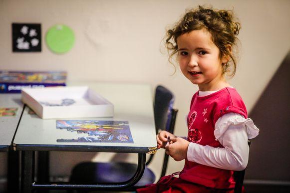 Panka (4) hoopt dat ze ook volgend jaar op het schooltje kan blijven