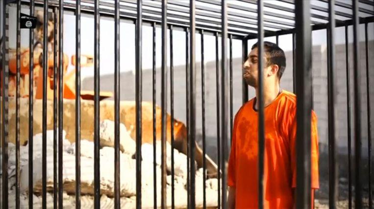 De Jordaanse piloot Moaz al-Kasasbeh werd door IS levend verbrand.