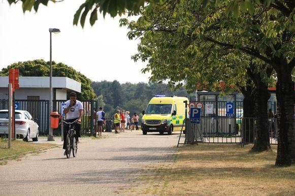 De kleuter werd in kritieke toestand afgevoerd naar het ziekenhuis.