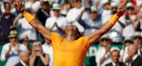 Nadal wint voor derde jaar op rij in Monaco