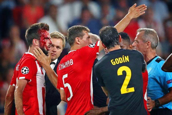 PSV tegen Atlético Madrid.