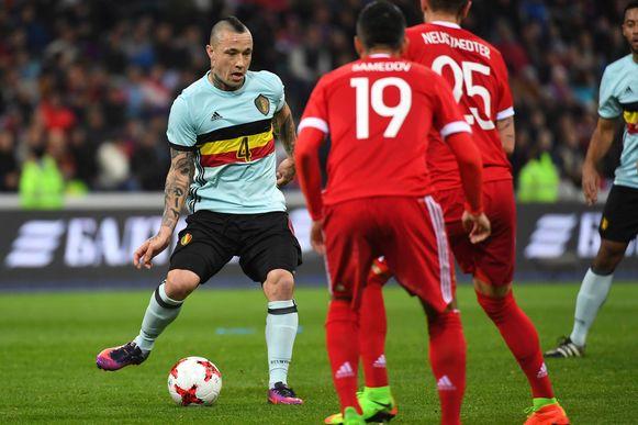 Radja speelde de hele wedstrijd tegen Rusland.