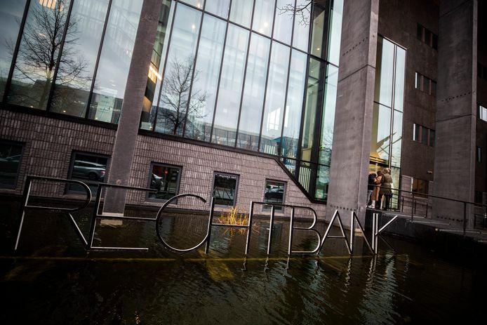 Exterieur van de rechtbank in Lelystad.