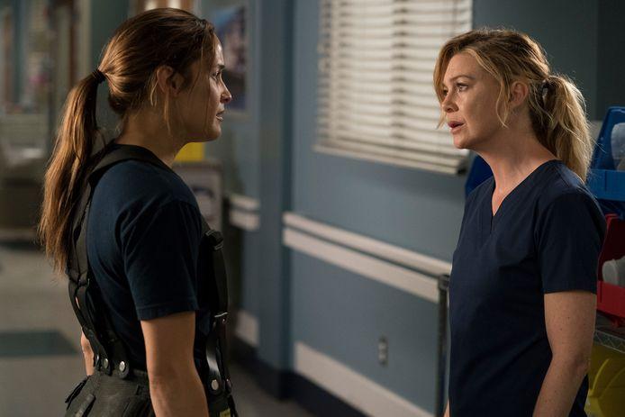 Meredith Grey in Grey's Anatomy