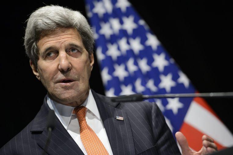 John Kerry. Beeld epa