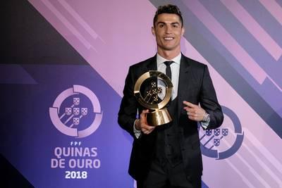 Ronaldo weer de beste in Portugal