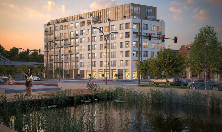 Een toekomstbeeld van residentie De Kempenaar.