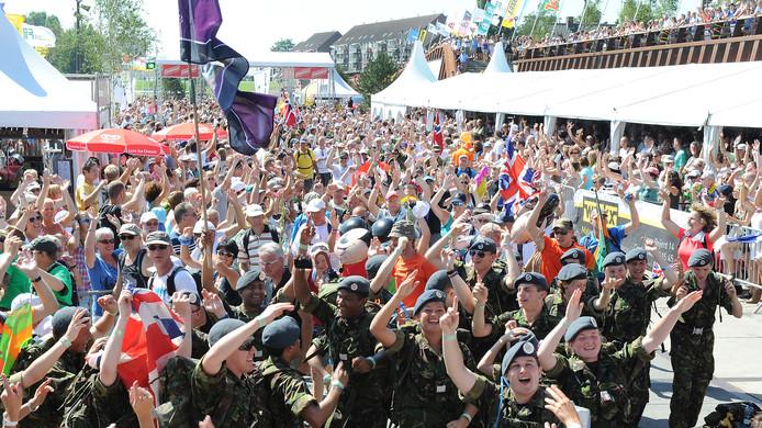 Op de Dag van Cuijk tijdens de Vierdaagse is er altijd genoeg te beleven op de Maaskade in Cuijk.