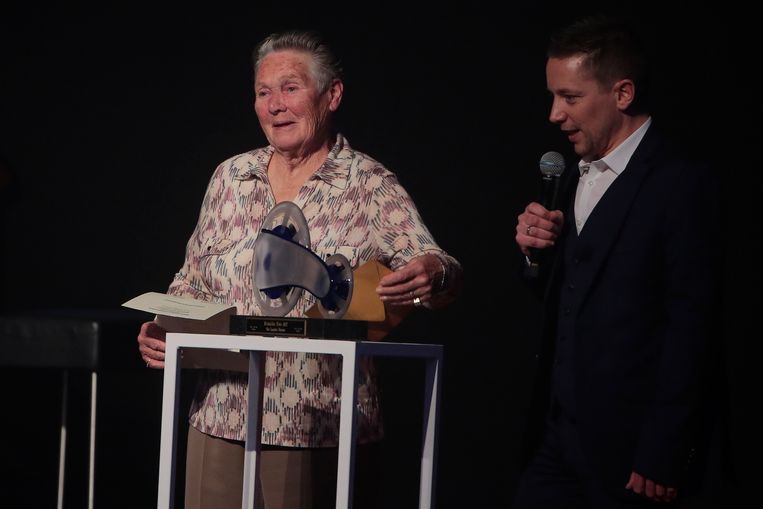 Yvonne Reynders, viervoudig wereldkampioen bij de vrouwen.