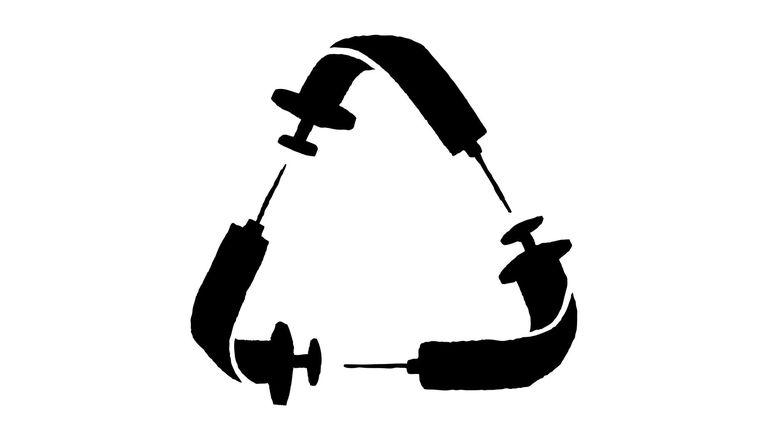 Het idee voor het spuitenruilen ging de wereld over Beeld Yoko Heiligers