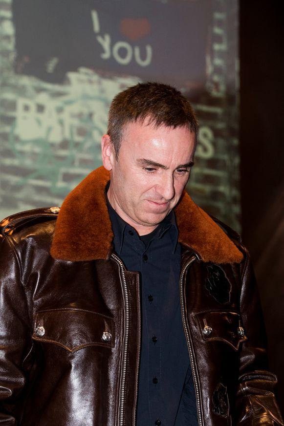 Raf Simons, momenteel creatief directeur bij Calvin Klein.