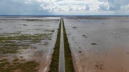 Dronebeelden tonen verwoestende impact van cycloon Idai in Mozambique, VN vragen kwart miljard euro noodhulp