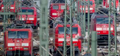 Met één trein naar vliegveld in Düsseldorf