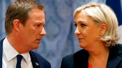 Le Pen krijgt deksel op de neus van vroegere running mate