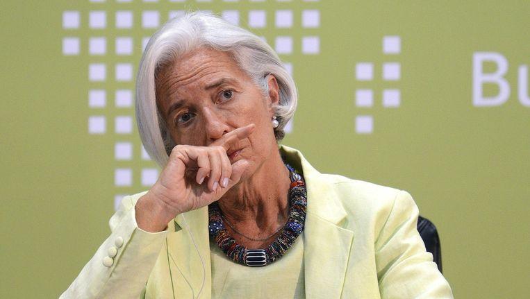 IMF-voorzitter Christine Lagarde Beeld ap