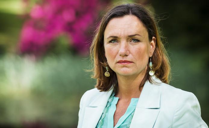 VVD-gedeputeerde Jacqueline Verbeek-Nijhof.