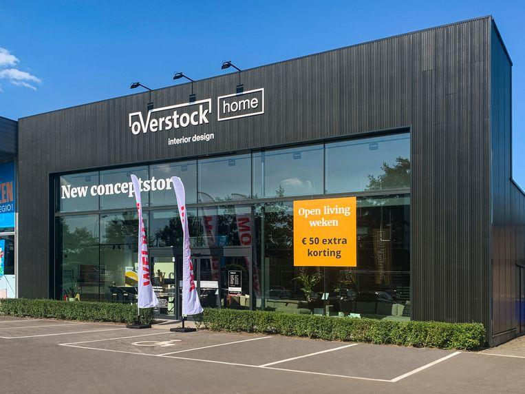 De nieuwe winkel van Overstock Home in Schoten