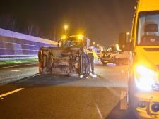 A16 bij afslag Rijsbergen na ongeluk weer vrijgegeven