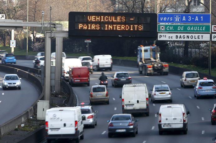 Door verkeerslawaai krijgen Parijzenaars vele ziektes.