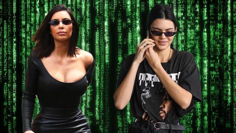 Kim Kardashian en Kendall Jenner.