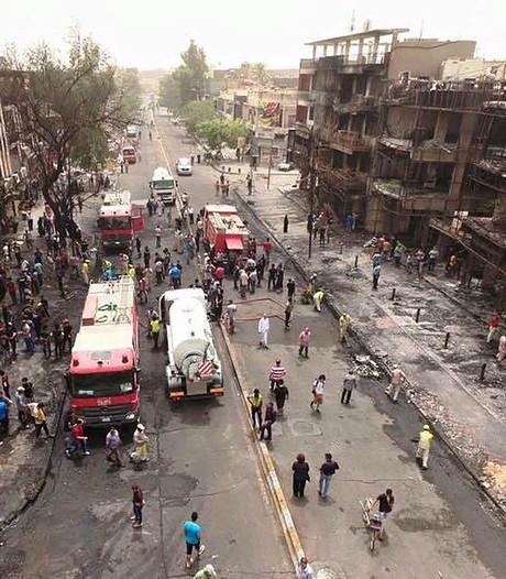 Zeker 14 doden bij bomaanslag in centrum Bagdad