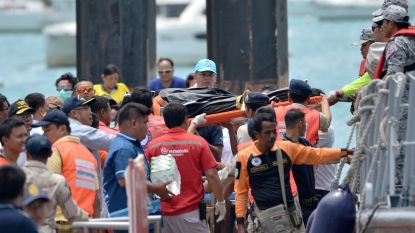 Al 33 doden geteld, nog 23 vermisten na scheepsrampen in Thailand