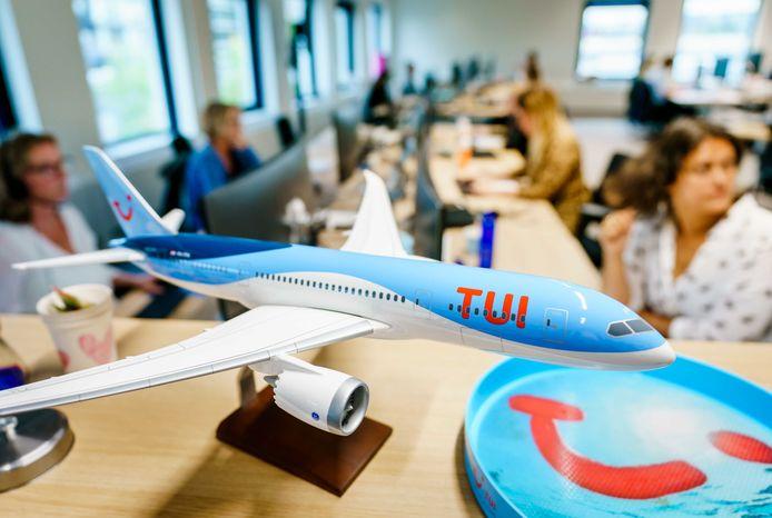 Een callcentre van TUI in Nederland. Foto ter illustratie.