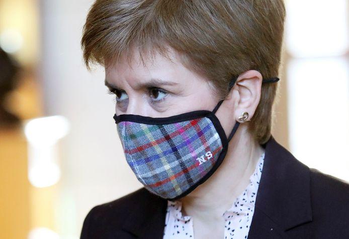 De Schotse premier en SNP-leider Nicola Sturgeon stuurt aan op een nieuw onafhankelijkheidsreferendum als haar partij in mei opnieuw de meerderheid krijgt in het Schotse parlement.