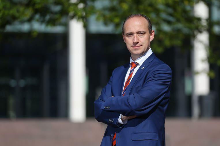 Wim Dries, burgemeester van Genk.