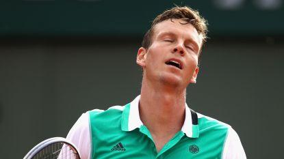 Tomas Berdych mist na Wimbledon ook US Open door pijnlijke rug