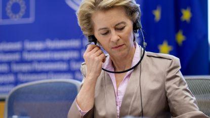 Europese Commissie wil volgend jaar al bijna helft van relancefonds in de strijd gooien