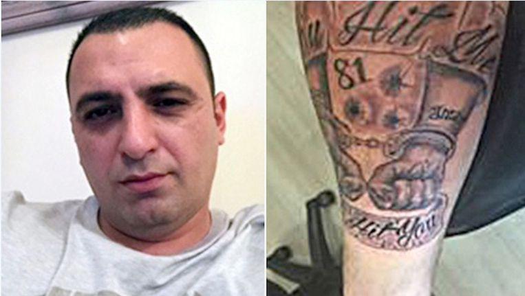De vermoedelijke schutter Cengiz Akin. Beeld Opsporing verzocht